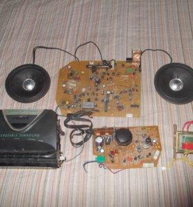 Стерео усилитель магнитофон радио кассеты платы