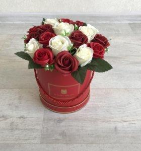 Мыльные розы красивые