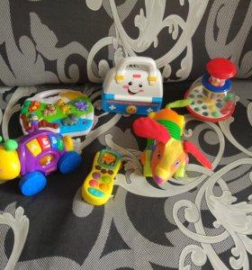 Музыкальные игрушки.