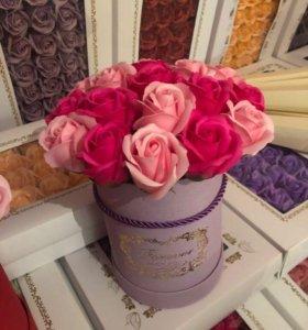Букет из роз из мыла Art.74683