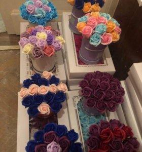 Букет из роз из мыла Art.9899