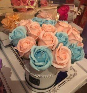 Букет из роз из мыла Art.7671