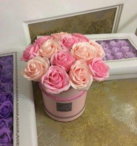 Букет из роз из мыла Art.901