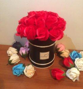 Букет из роз из мыла Art.772