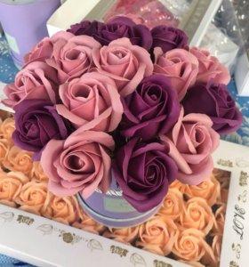 Букет из мыла из роз Art.34