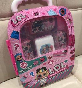 Куклы LOL в чемодане