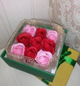 Мыльные розы!