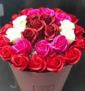 Мыльные розы