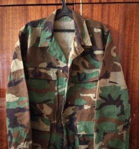 Китель армии США BDU woodland