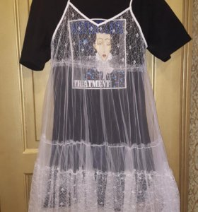 Платье-туника-сарафан