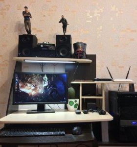Шикарный игровой PC i5-3570 3.80,озу 8,GTX 1050 Ti