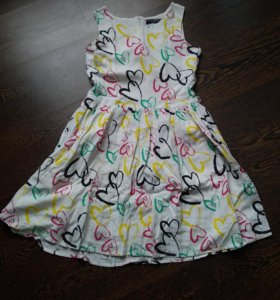 152 рост. Летнее платье для девочки