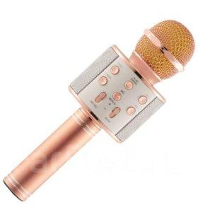 Беспроводной микрофон караоке WS-858