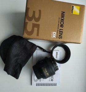 Объектив Nikon 35mm f/1.8G