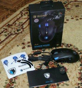 Игровая мышка Sades S12 Axe(Новая)