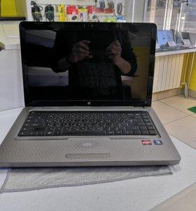 Шустрый Ноутбук HP G62-a84ER (3 ядра 3 Гб 160 Гб)