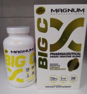Супер креатин! Magnum Big C