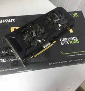 Игровая Видеокарта Palit GTX 1060 6Gb Dual