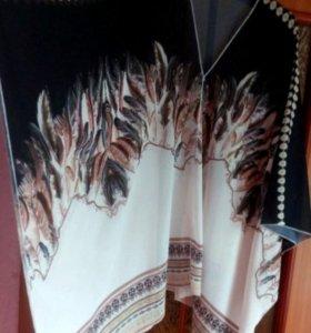Эксклюзив. Новая туника-платье. Гонконг. Большой р