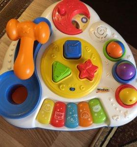 Развивающий музыкальный столик Win Fun