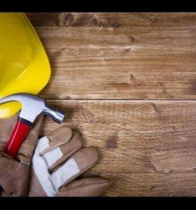 Бригада опытных строителей выполнит работы любой.