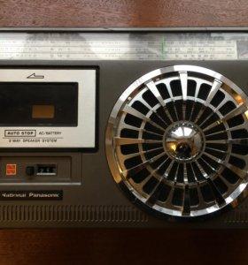 Магнитола National Panasonic RQ-547D винтаж