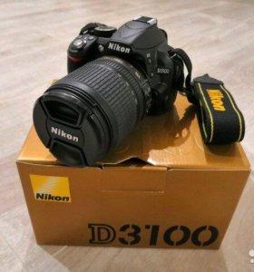 Фотоаппарат Nikon D3100 kit18-105