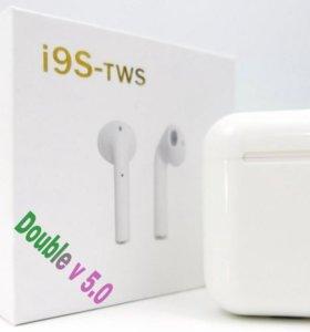 Беспроводные наушники (Bluetooth) i9s