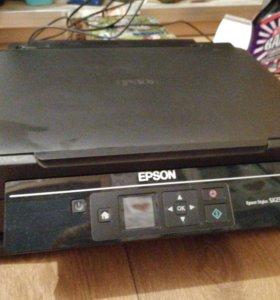 Цветной струйный МФУ (принтер,сканер,копир)