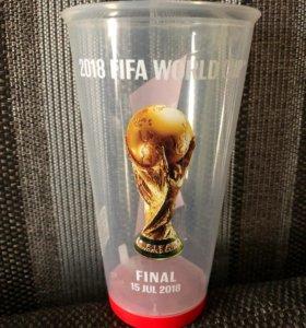 Стакан Чемпионат мира 2018 финал