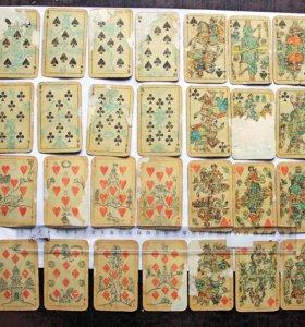 Лубочные игральные карты, художник Свешников