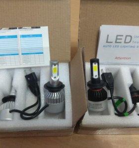 Новые Led лампы для авто H7, H1