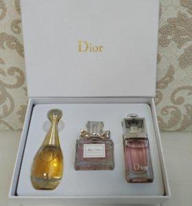Набор парфюма Dior 3 в 1
