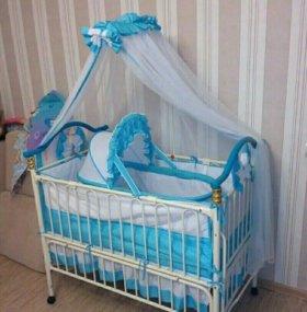 Детская кроватка Geoby TLY632