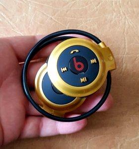 Классные беспроводные спортивные наушники mini 503