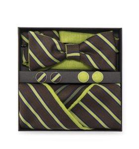 Набор #17 (галстук-бабочка, платок-паше)