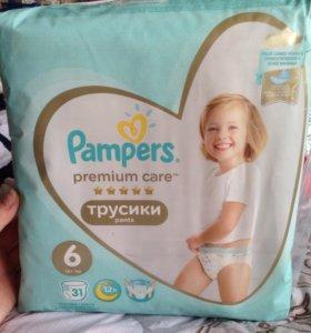 Подгузники-трусики Pampers Premium Care 6