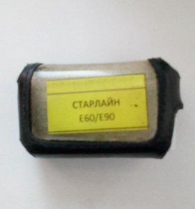 Чехол кожаный брелка Starline E60 / E90