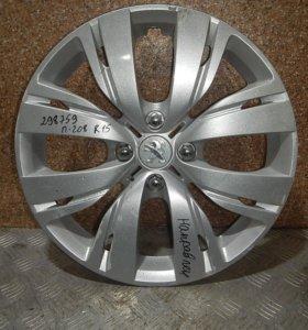 Колпак колесный декоративный, Колпаки-PEUGEOT (ПЕЖО) R15