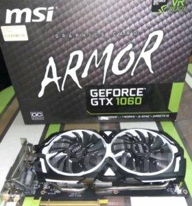 GTX MSI 1060 Armor OC 6 GB