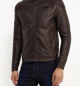 Кожаная куртка Fresh Brand