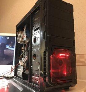 Пк для Игр i7-2600S/ 8Gb/SSD + HDD/ GTX 1060 6Gb