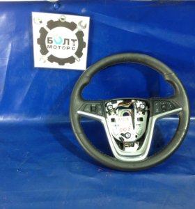 Рулевое колесо руль черный Опель Мокка Opel Mokka