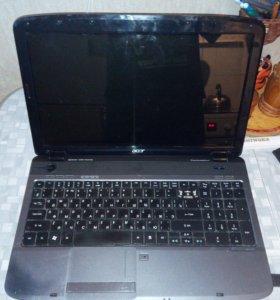 Ноутбук acer aspire 5536 amd/3 gb/без hdd