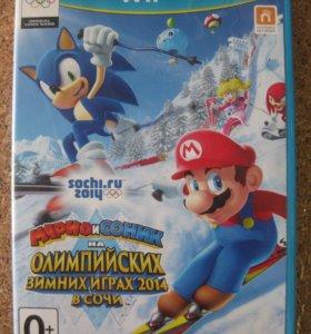 Марио и Соник на Олимпийских зимних играх в Сочи
