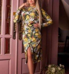 Новое стильное платье из французского трикотажа