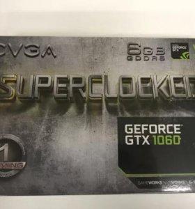 Видеокарта evga GTX 1060 6GB SC gaming 06G-P4-6163