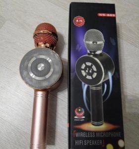 Микрофон караоке 669