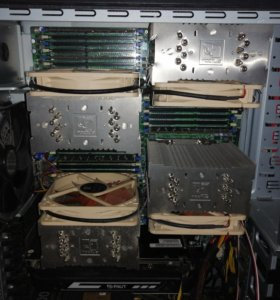 Рабочая станция (Сервер) 64 core 64 GB RAM