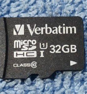 Verbatim 32Gb UHS-1 (10)